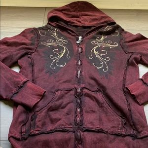 Women's Sinful zip up hoodie